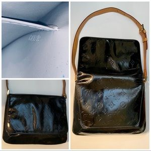 Monogram Vernis black Thompson Street Bag